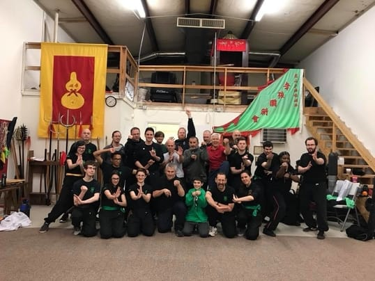 photograph of thundering wave martial arts students at the stallings north carolina school location